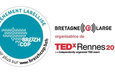 TEDxRennes2019 événement labellisé BreizhCop !